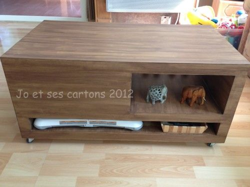 393 best images about meubles en carton on pinterest for Meuble carton tuto