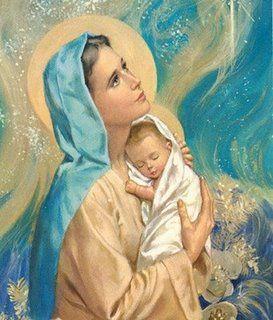 Estava em Pém de Belém a Virgem Nossa Senhora da Conceição co, seu Livrinho meio lido e meio rezado. Chegou nosso Senhor Jesus Cristo seu fi...