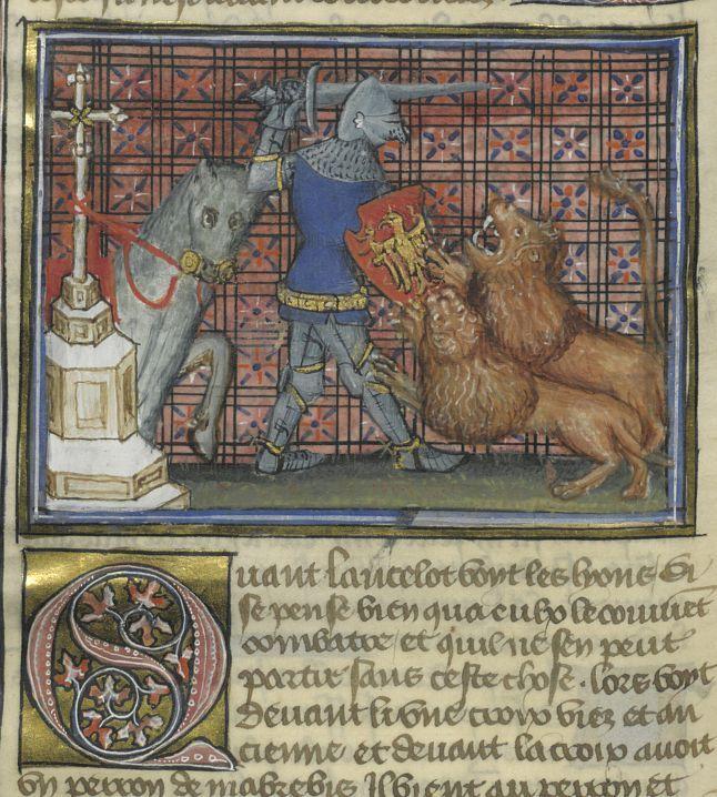 17 best images about lancelot on pinterest museums king - Tristan le chevalier de la table ronde ...