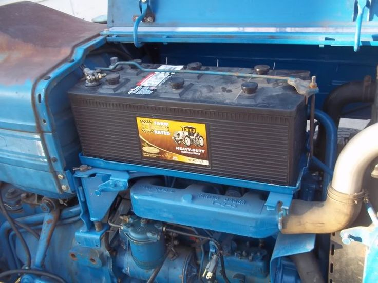 Ford 3000 Gas Tractor Battery Tray - Yesterday's Tractors
