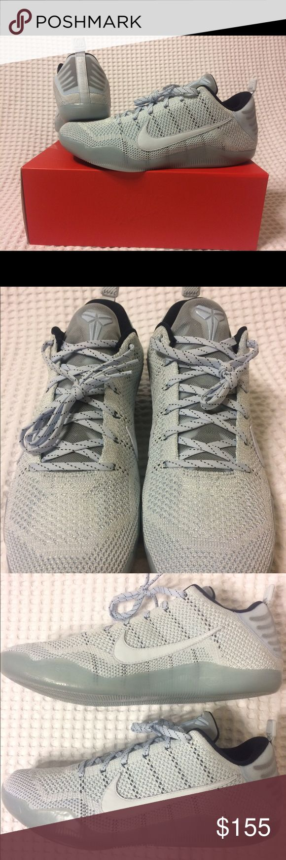 Nike Kobe 11 XI Elite Low Sneakers BRAND NEW, NEVER WORN Kobe Bryant 11 XI Elite Low Nike Sneakers in original box! SIZE come in Men's 13 Retails for $220 asking $155. NO LOWBALLS, will consider trade for other Jordans. If you're interested or have any questions, message me or text me at 5O3 48six 79one3  Tags: Air, Zoom, Sneakers, Kicks, Tennis shoes, Jordan's, Retro, Nike, Adidas, Basketball, Air Max, LeBron James, Kevin Durant, NBA, NFL, Kicks, Dame, Steph Curry, Kobe Bryant, Black Mamba…