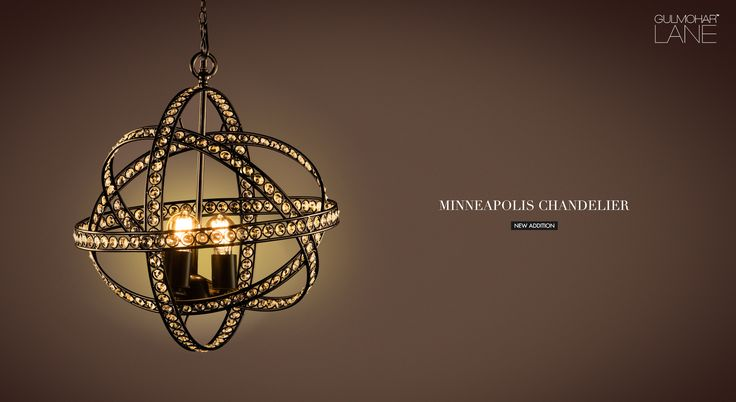 The traditional sphere pendant takes a modern approach with our Minneapolis Chandelier. This season, highlight your home with Gulmohar Lane's new lighting collection...  Product Link: http://www.gulmoharlane.com/products/minneapolis-chandelier