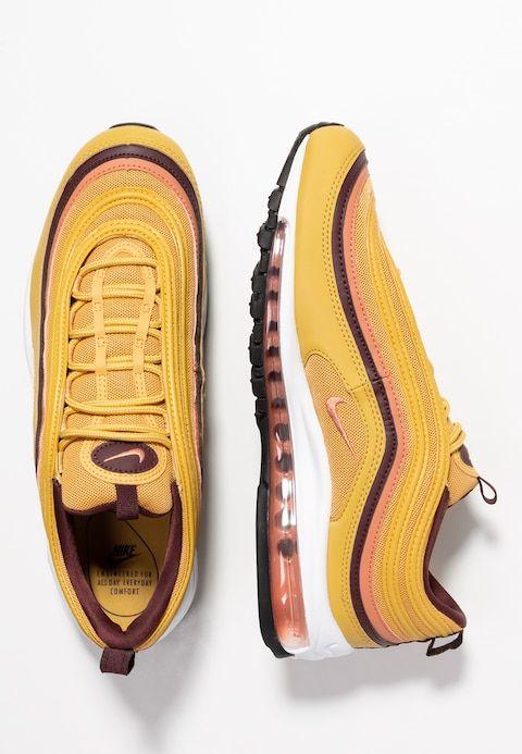 differently d70e1 38949 Nike Sportswear AIR MAX 97 - Sneakers - wheat gold terra blush burgundy  crush