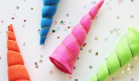 DIY Ideas, Videos and Shopping | Darby Smart felt unicorn horns
