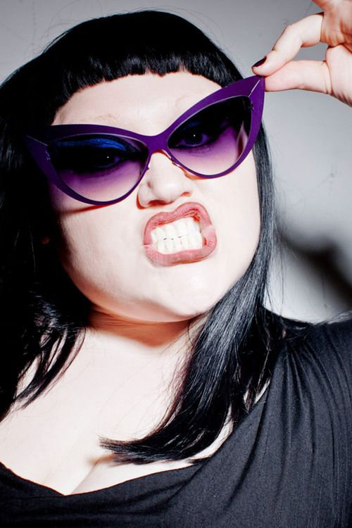 MYKITA by Beth Ditto, wearing her own model BETH