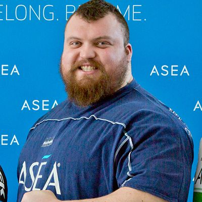 Eddie Hall, World's Strongest Man, loves ASEA, and he just broke another world record, lifting 1102-pound deadlift