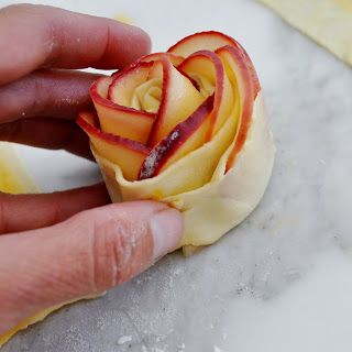 Impress your guests with this beautiful rose-shaped dessert   made with lots of soft and delicious apple slices, wrapped in sweet and crisp...