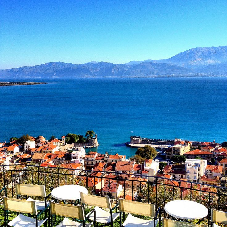 Shades of blue Nafpaktos