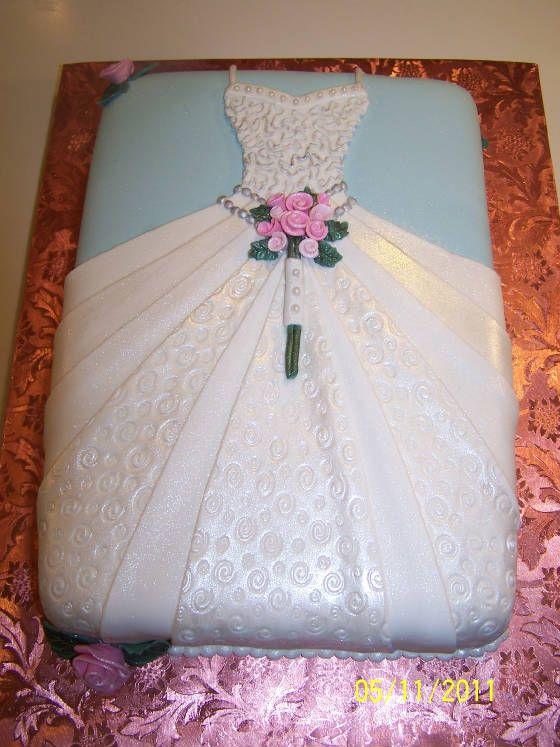 57 best Bridal Shower Cakes images on Pinterest | Cake wedding ...
