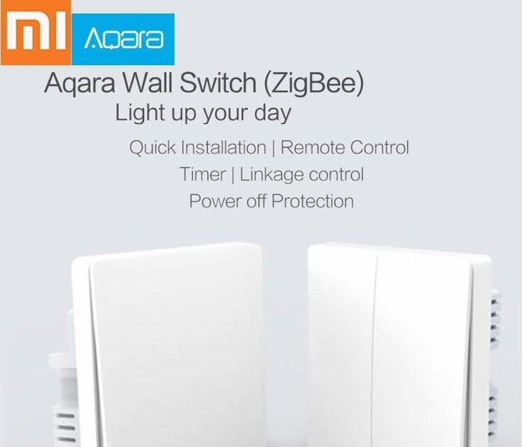 Best Seller Xiaomi Aqara Switch Smart Light Control ZiGBee