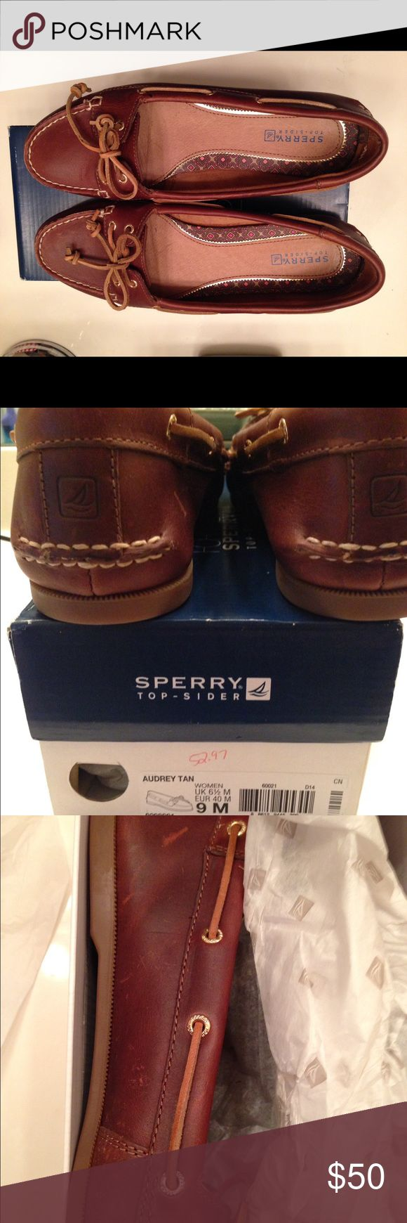 Sperry boat shoes New in Box New in box Sperry boat shoes. Bought on sale, however never wore them. Sperry Top-Sider Shoes Flats & Loafers