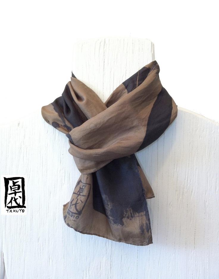 .Silk Mens Scarf. Mens silk scarf.