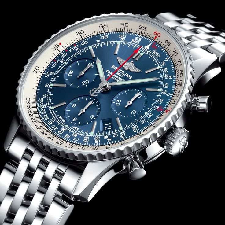 The Watch Quote: Photo - Breitling Navitimer Blue Sky Limited Edition 60th anniversary