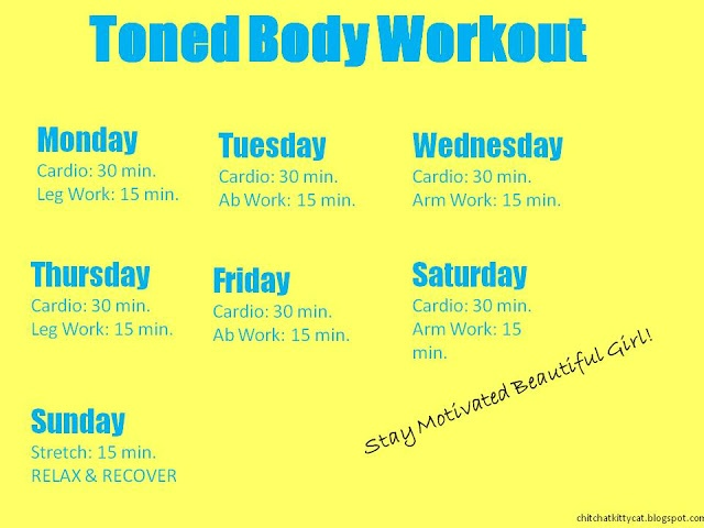 Toned Body Workout