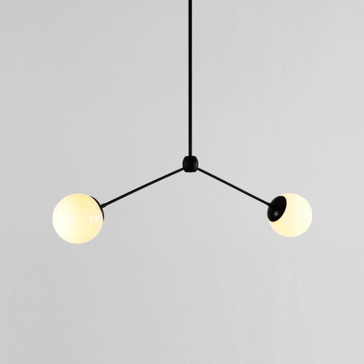 Modo Pendant - 2 Globes - Lighting - NEW