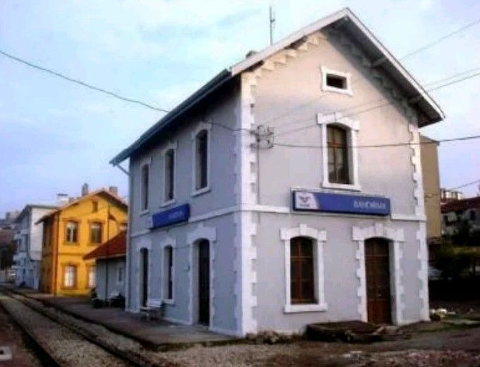 Bandırma Former railway station building-Constructive: Ottoman Government-Built year: 1912-Aşağı istasyon neighborhood-Bandırma-Balıkesir