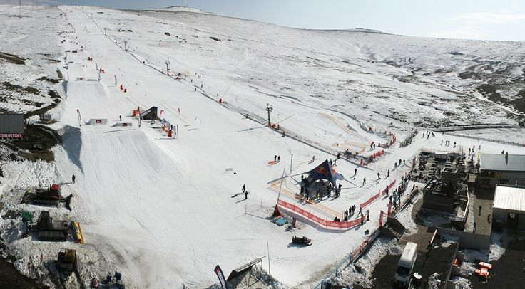 The only ski resort in Lesotho, Africa