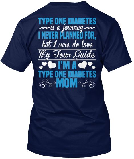 *Limited Edition* TYPE ONE DIABETES MOM | Teespring