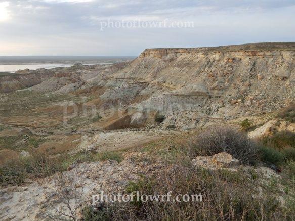 Steppe Rocks Natural Landmarks Outdoor Steppe
