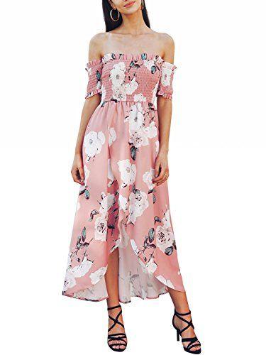 RISTHY Moslemische Lange Kleider Maxi-Kleid einfarbig Plus ...