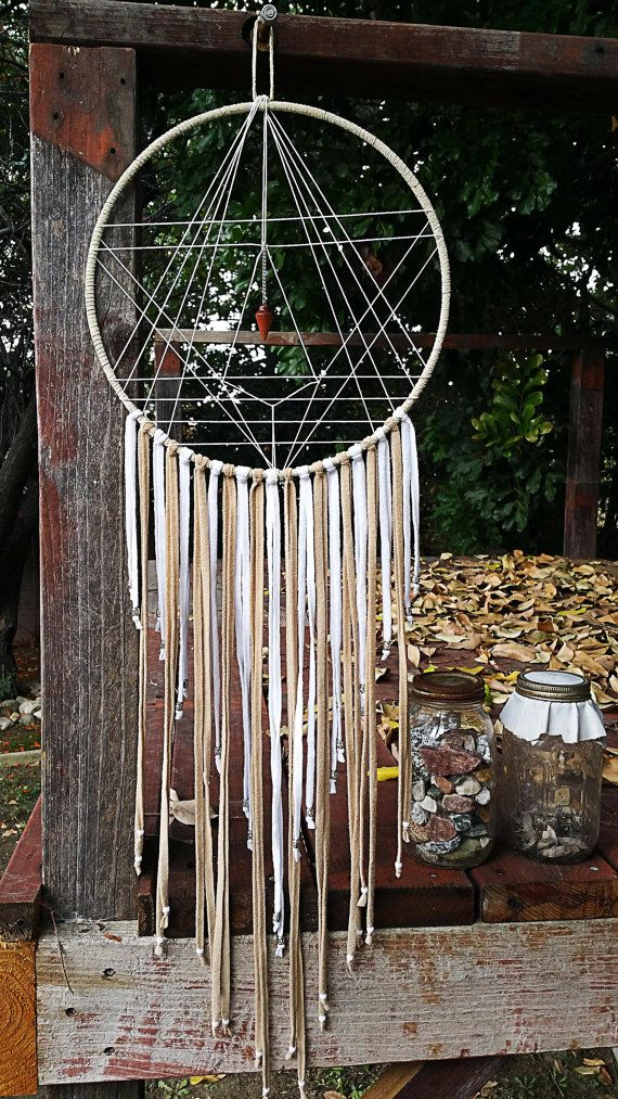Geometry Dream Catcher от Aurvgon на Etsy