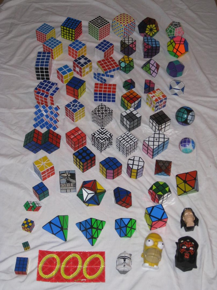 Rubik's Cube and Twisty Puzzle Collection   KITSLAM   https://www.youtube.com/watch?v=avCsIjuLolY