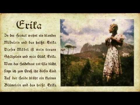 Erika --- (Marschlied) (Hi-Fi) - YouTube