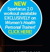 NEW Spartacus 2.0 workout available EXCLUSIVELY on Women's Health Personal Trainer