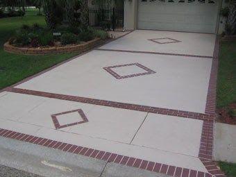 concrete driveway designs - Concrete Driveway Design Ideas