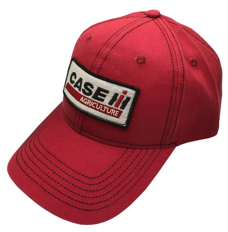 Case IH - Men's Case IH Agriculture Embroidered Patch Cap