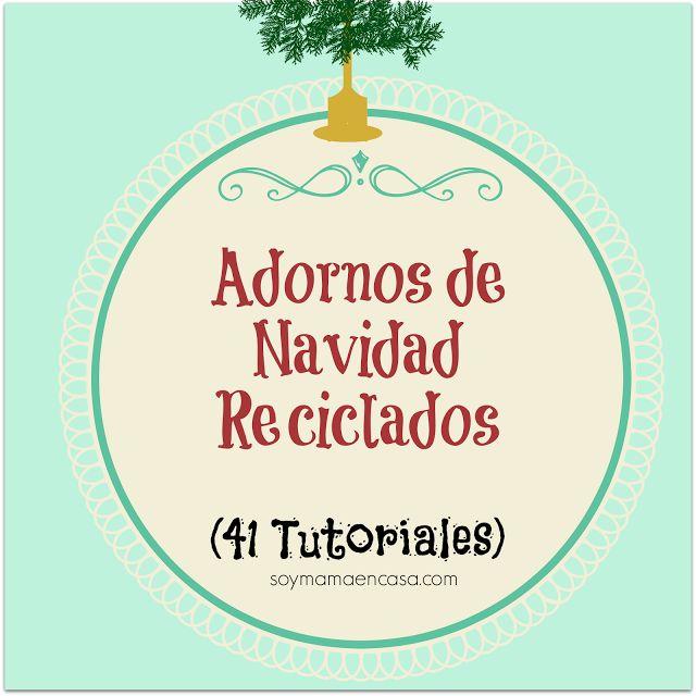 Soy mam en casa recetas f ciles manualidades shopping - Adornos de navidad para casa ...