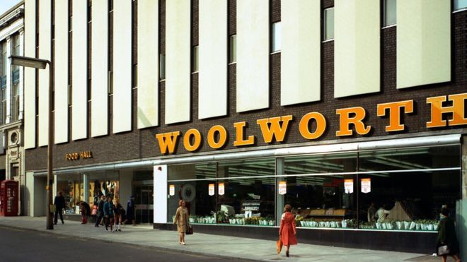 Woolworths, Barnsley store, South Yorkshire, 1970s  #RePin by AT Social Media Marketing - Pinterest Marketing Specialists ATSocialMedia.co.uk