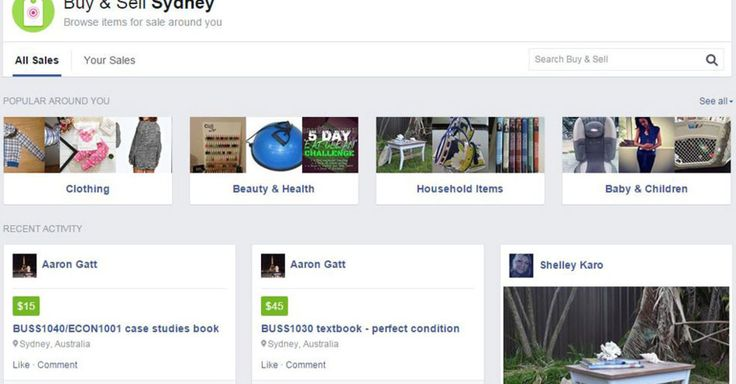 In a move that could make eBay and Craigslist management lose sleep, Facebook appears to be testing a new online marketplace feature in Sydney, Australia and Auckland, New Zealand.