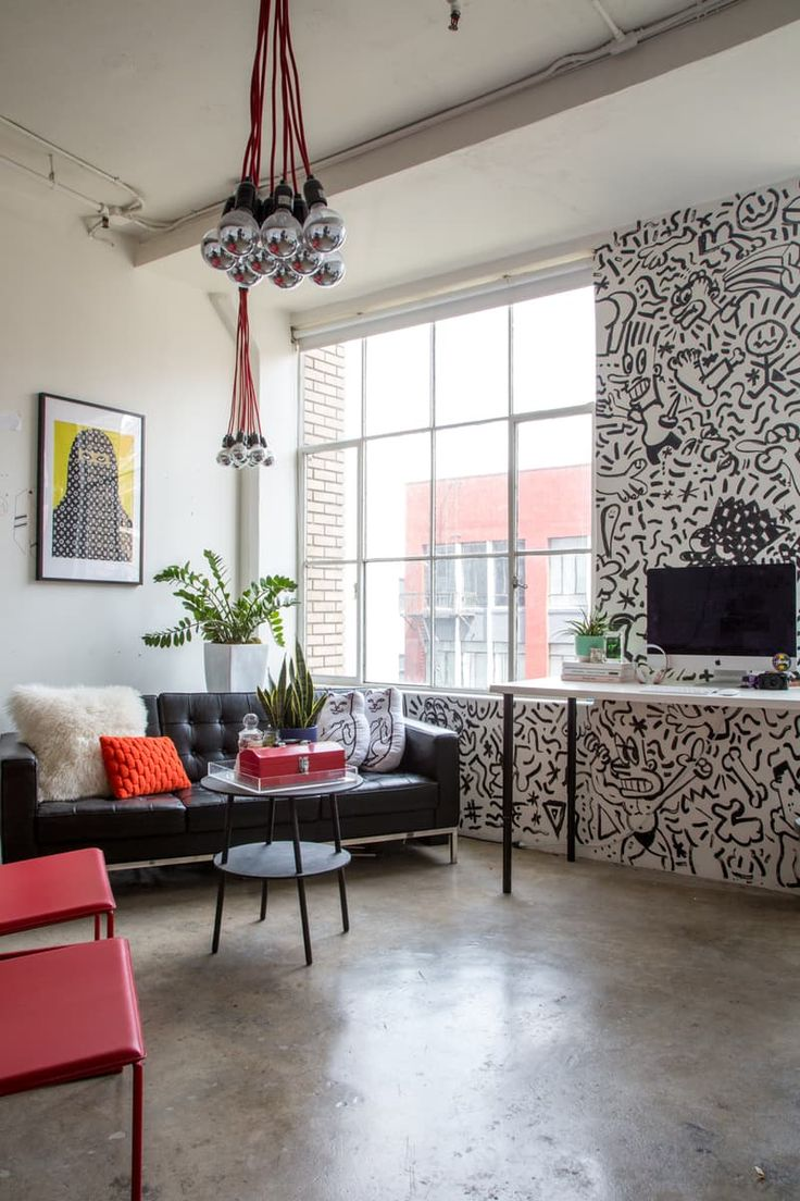 Modern Eclectic Vibes In The Downtown Home Of Dimepiece LA Workspace Tour By Apartment Therapy Main