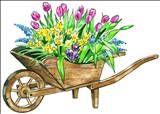 kwiaty i motywy kwiatowe - taczka.gif