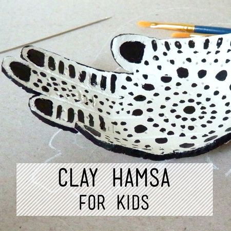Clay Hamsa for Kids Taught by Charlotte Rigby Are you looking for something different to do after school? Take some time to slow down and make time to crea...