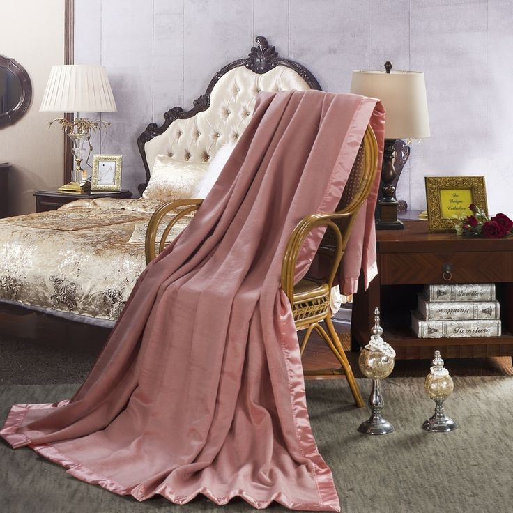 100% Mulberry Silk Blanket (Pink) - Snow Bedding