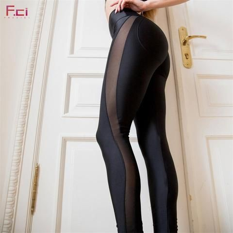 c44797c01fd13 Sexy Booty Push Up Side Transparent Leggings in 2019 | Pants ...