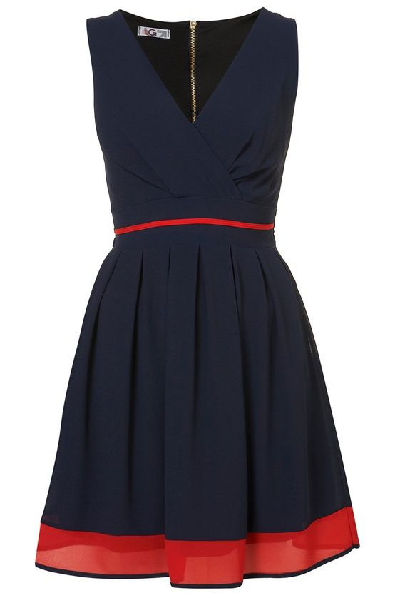 Simple and pretty - adorable tailgating dress for UH Houston Cougars or Ole 'Miss Rebels
