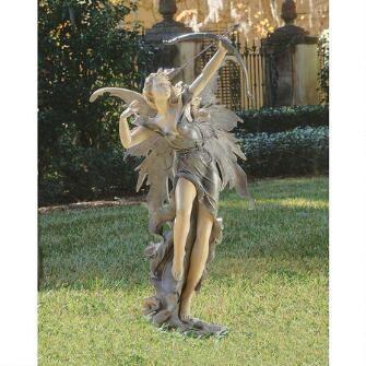 Rhiannon the Archer Garden Fairy Statue $375.00