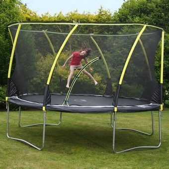 Plum 12ft Whirlwind Trampoline and 3G Enclosure | Plum Trampolines