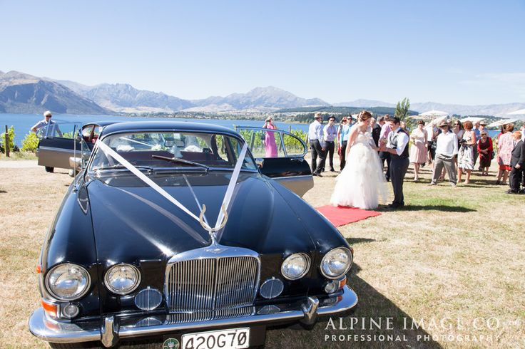 Travel ling to the vineyard wedding ceremony in style- at Rippon