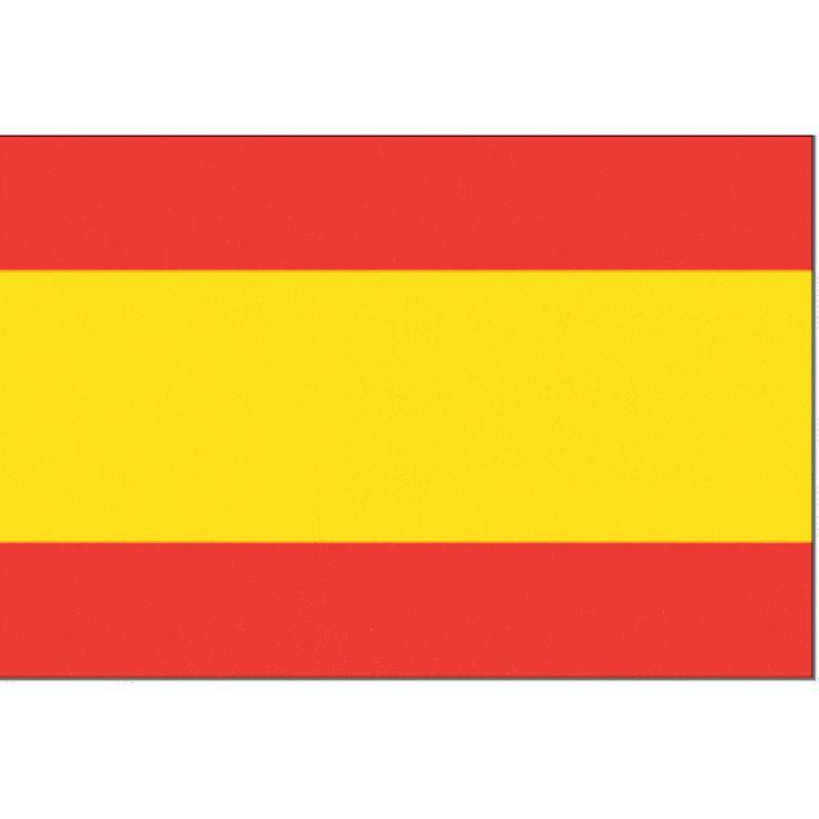 Spaanse vlag Spanje 100x150cm