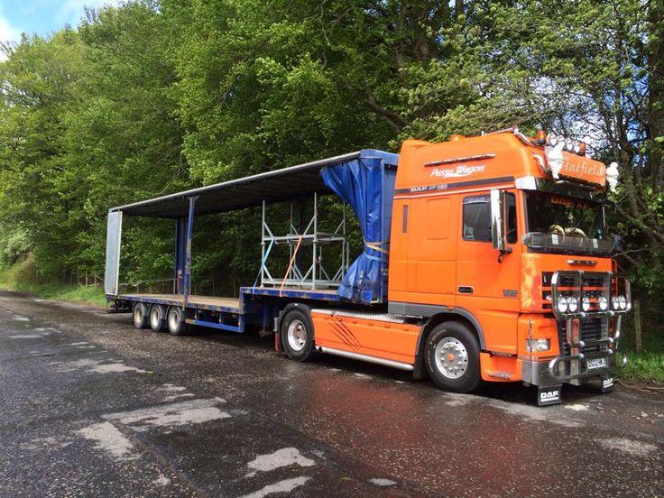 Tim Hatfield - DAF Truck