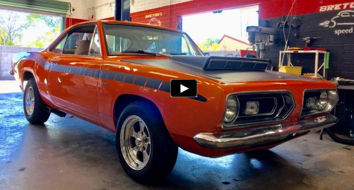 "Cool 1967 Plymouth Barracuda Custom ""Kalola Cuda"""