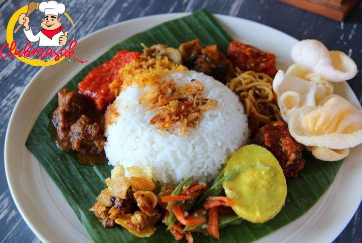 Resep Nasi Uduk Betawi Nasi Uduk Rice Cooker Clubmasak Com Masakan Indonesia Masakan Resep Masakan Indonesia