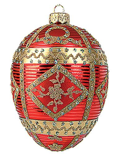 Faberge-Inspired-Red-Commemorative-Egg-Polish-Glass-Christmas-or-Easter-Ornament