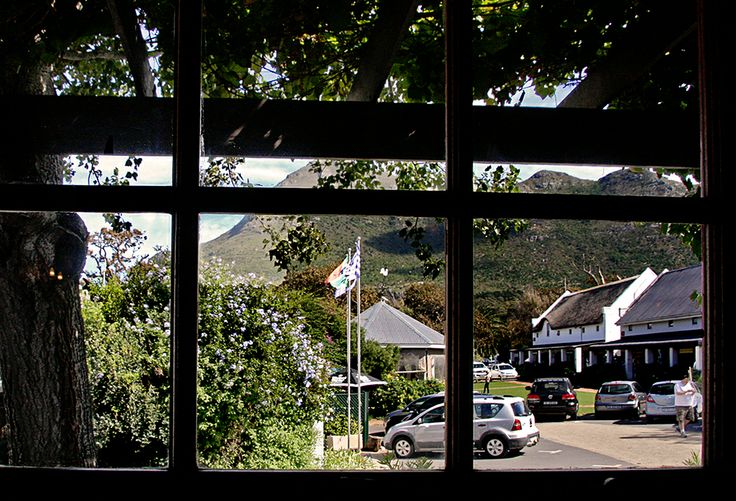 Noordhoek Farm Village - view from the lounge  De Noordhoek Hotel   Noordhoek Farm Village   Noordhoek   Cape Town  http://www.capepointroute.co.za/moreinfoAccommodation.php?aID=163