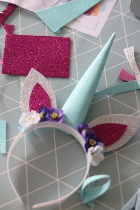 Unicorn kit with Kreativa Karin www.panduro.com