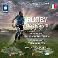 L'Italia del Rugby sfida le migliori nazionali europee nel più grande torneo del Mondo! Due giornate da non perdere: 14 e 27 febbraio allo Stadio Olimpico di Roma! Acquista ora su Ticketone.it!